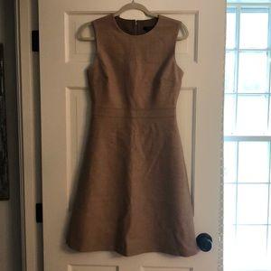 Beige JCrew Work Dress